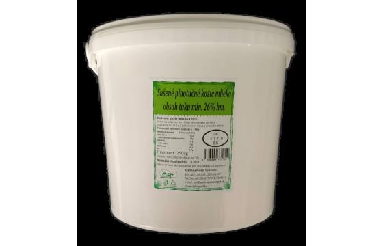 Sušené plnotučné kozie mlieko 2500g