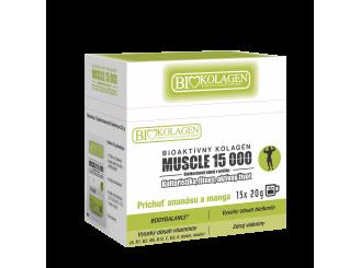MUSCLE 15 000 Bioaktívny kolagén 15x20g